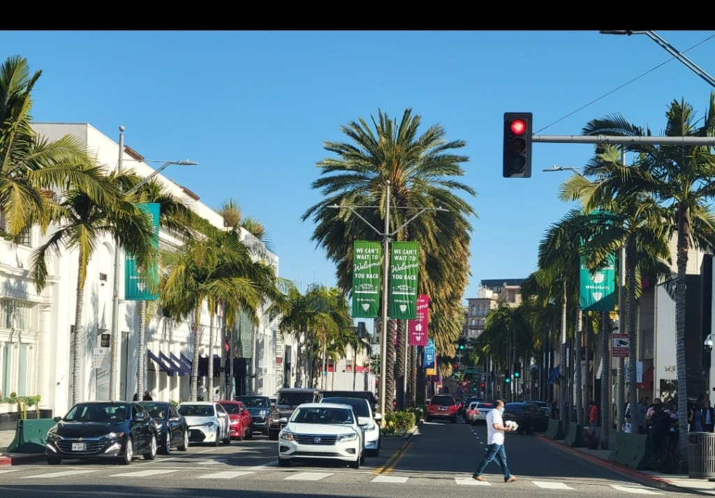 Rodeo Drive, Los Angeles California