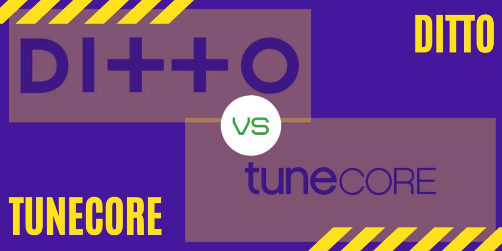 ditto vs tunecore