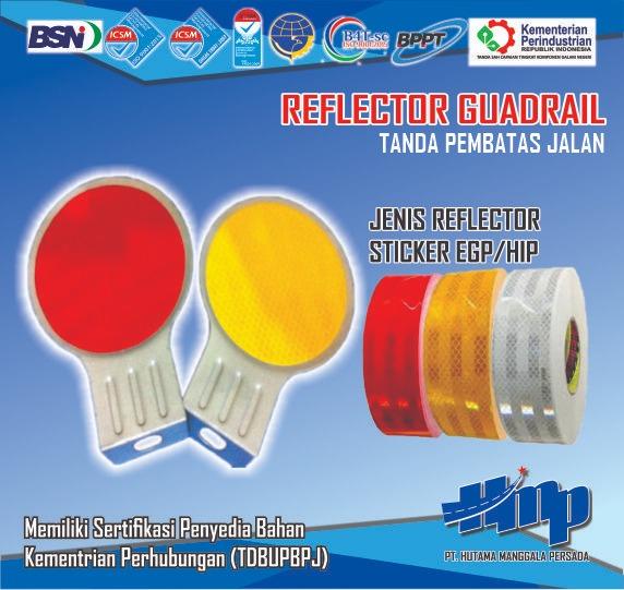 reflector guardrail