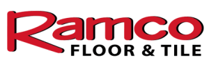 Ramco Floor and Tile Logo in red and black