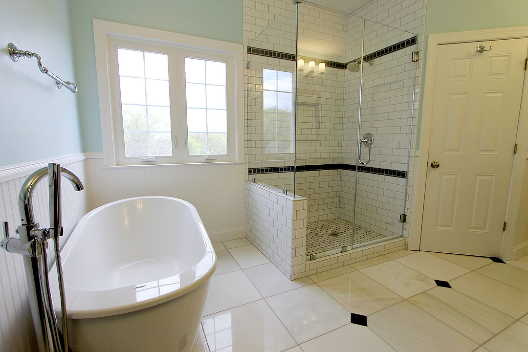 Bathroom Remodel in Haymarket VA by Ramcom Kitchen  Bath