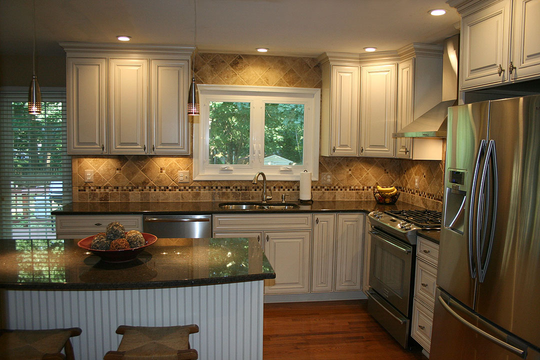Kitchen remodel in Gainesville VA by Ramcom Kitchen  Bath Contractor