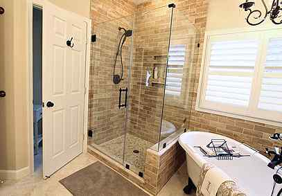 Bathroom remodel by Gainesville VA Contractors Ramcom