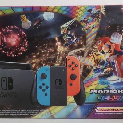 Nintendo Switch Mario Kart 8 Bundle