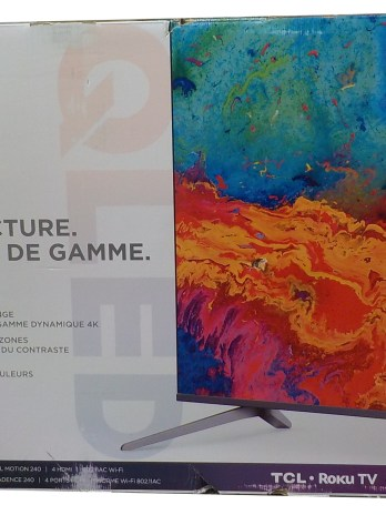 50″ TCL Smart TV