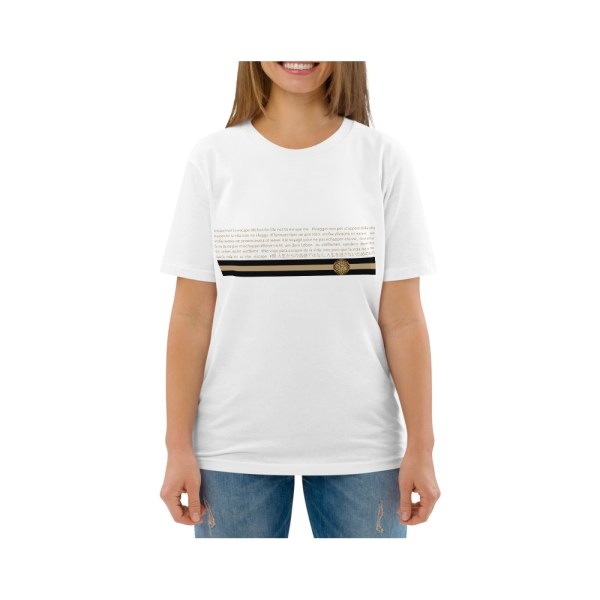 yosemita t-shirt stripe cotone unisex