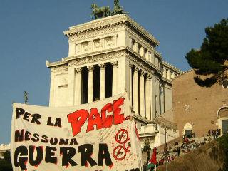 Galleria fotografica della manifestazione contro la guerra del 15 febbraio 2003
