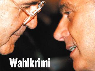 Galleria fotografica delle prime pagine dei giornali dedicate alle elezioni politiche del 2006