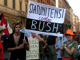 Galleria fotografica del No Bush No War Day