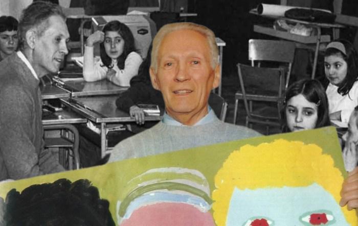 Il maestro Mario Lodi