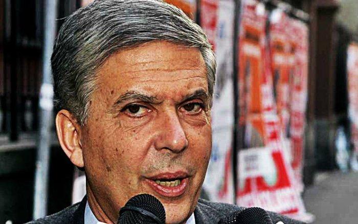 Il candidato presidente del centrosinistra Riccardo Sarfatti