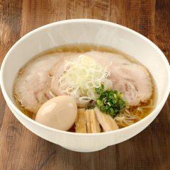 煮玉子チャーシュー鹽(しお)らぁ麺