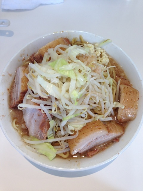 二郎系、らーめん荘 歴史を刻め 枚方で豚らーめんを食べてきました in 枚方市