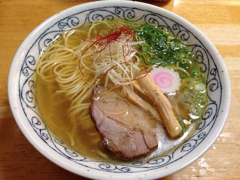 麺組の塩らーめん in 岩沼市