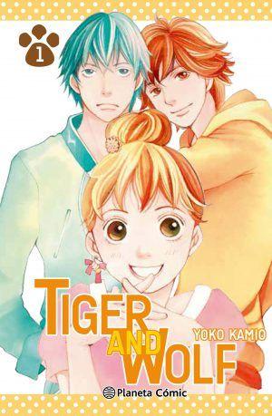 Resultado de imagen de tiger and wolf manga