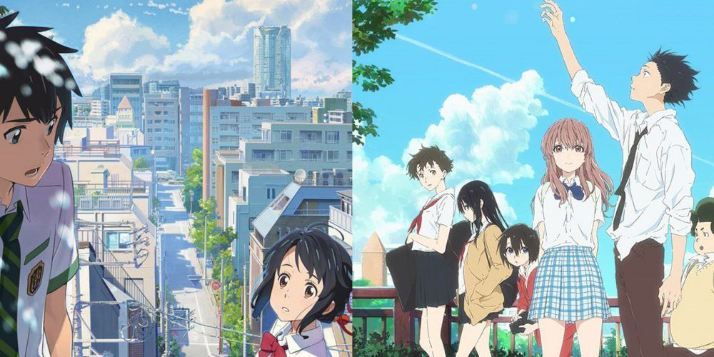 Persona 4 The Animation Wallpaper A Silent Voice Y Your Name Garladonados Con Premios De La