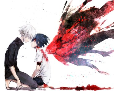 Kaneki and touka wallpaper
