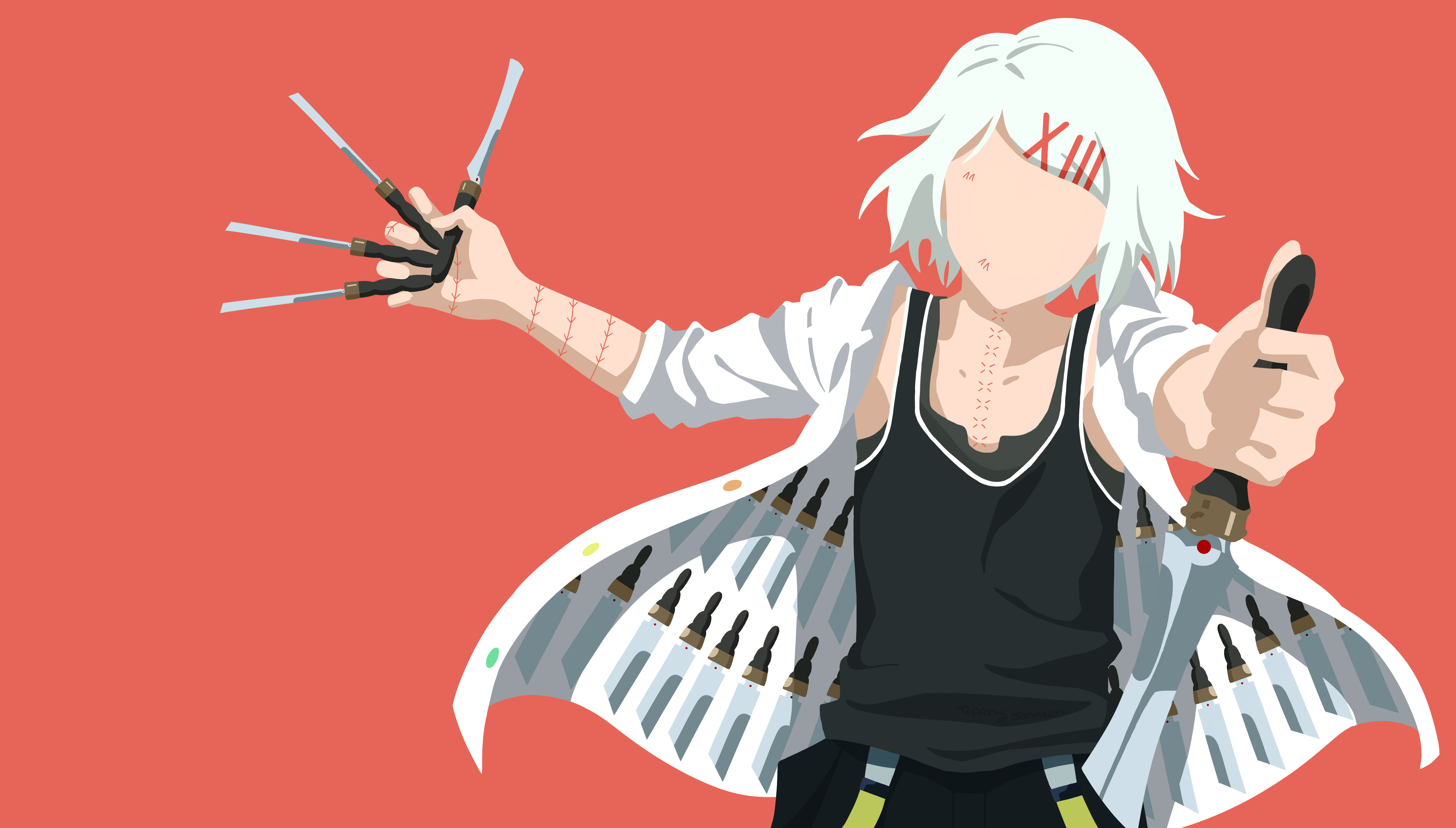 10 Awesome Tokyo Ghoul Minimal Wallpapers For Your Smartphone