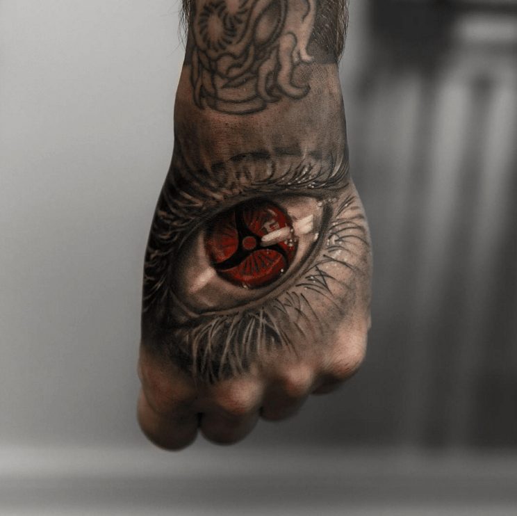 sharingan tattoo