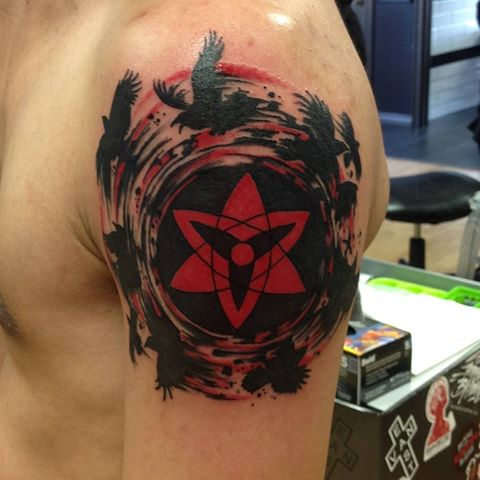 13 Sharingan Tattoos To Absolutely Die For Page 4 Of 4 The