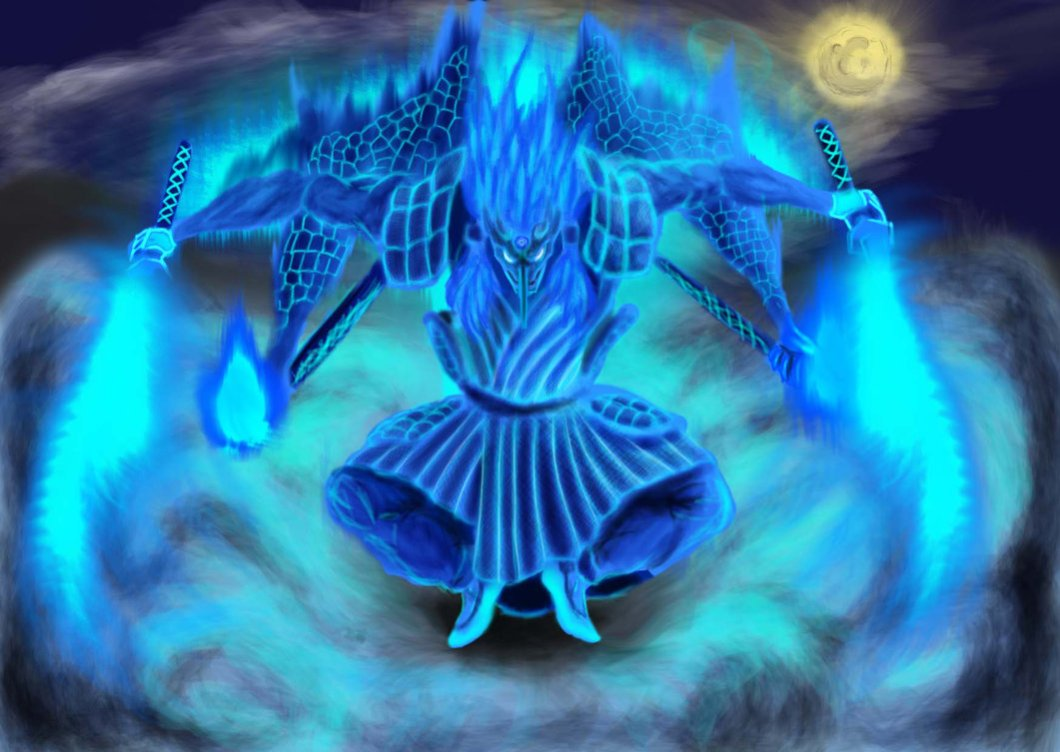 madara uchiha susanoo wallpaper