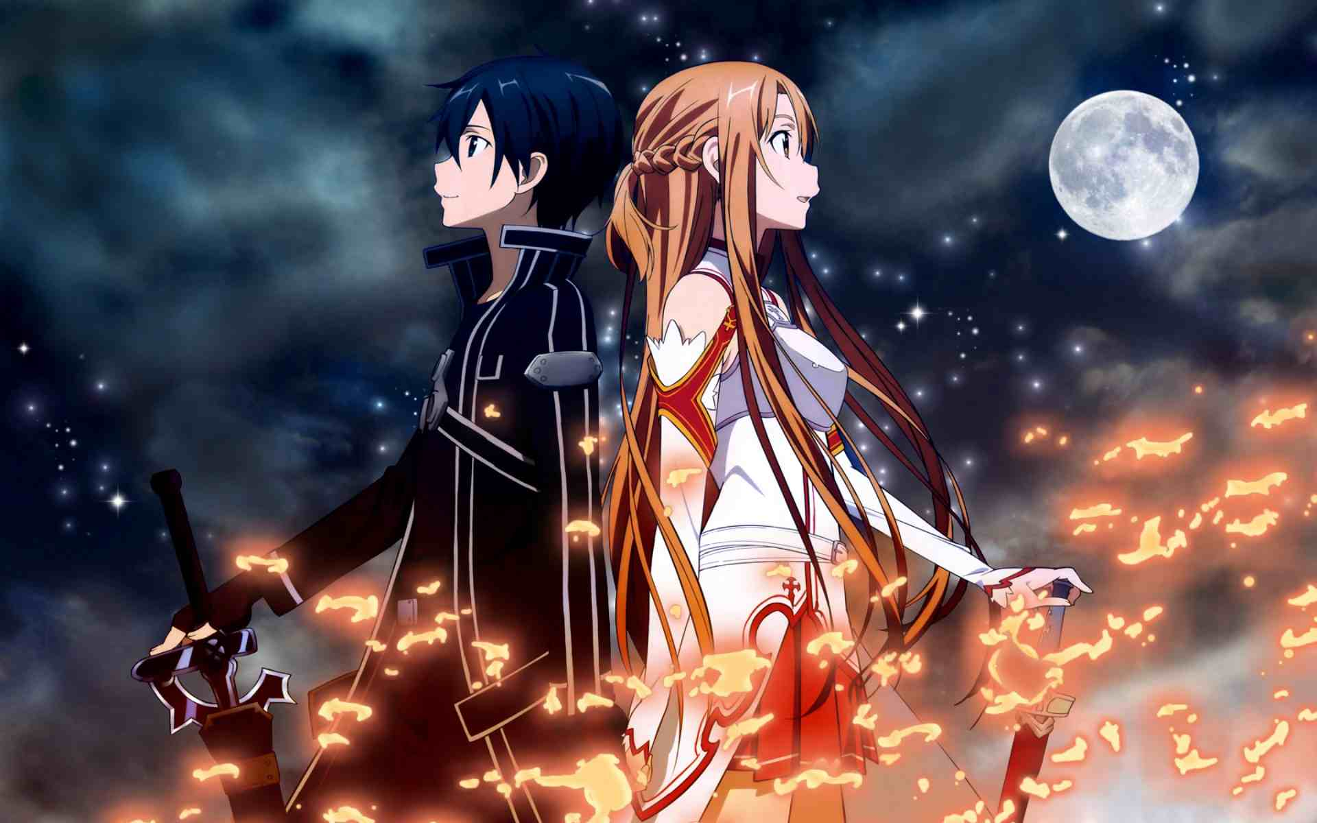 4k Kirito Desktop Wallpapers The Ramenswag