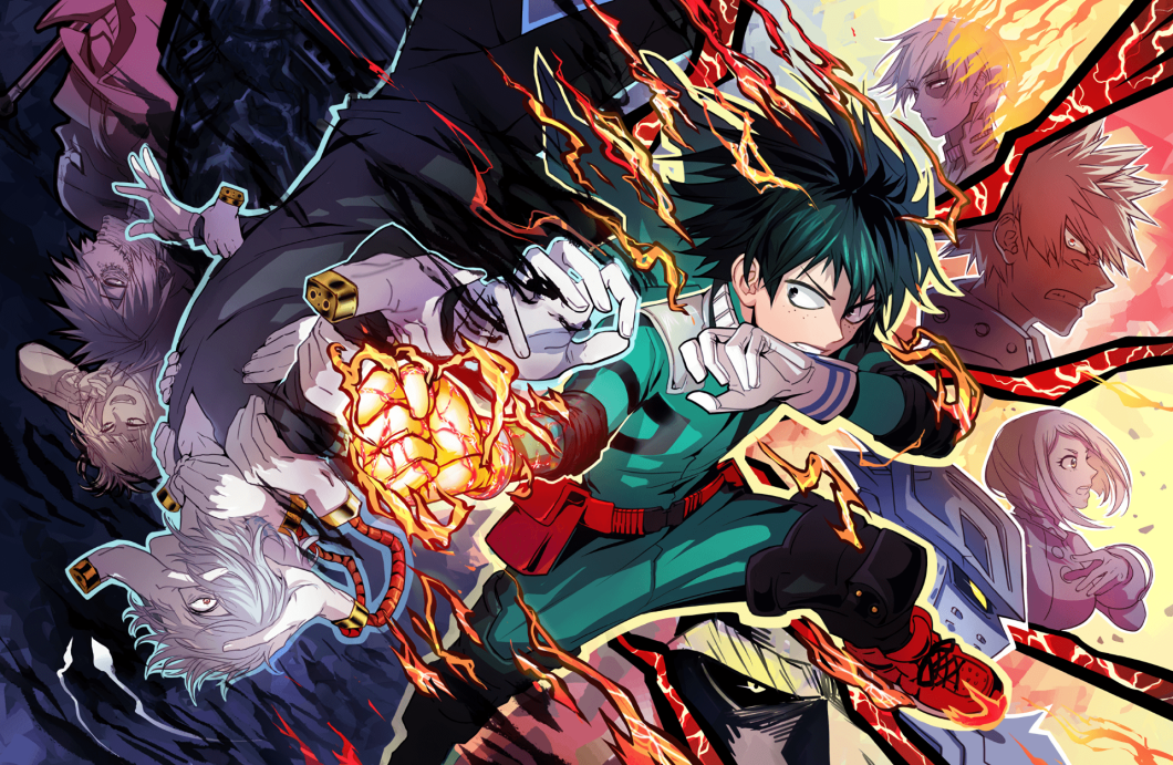 boku no hero academia 4k wallpaper
