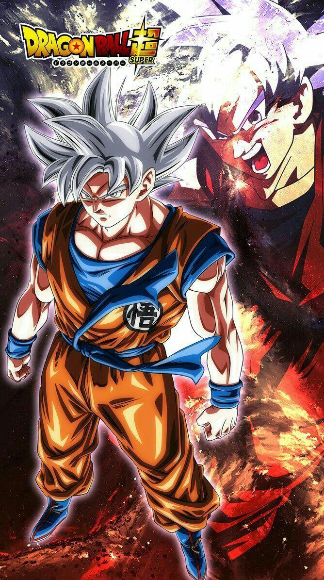 Son Goku Ultra Instinct Iphone Wallpaper Hd 66988 Wallpaper