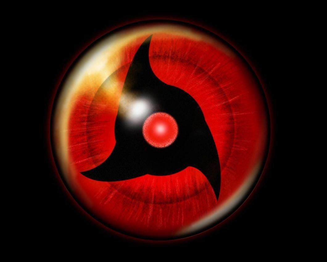 Wallpapers For   Obito Mangekyou Sharingan Wallpaper
