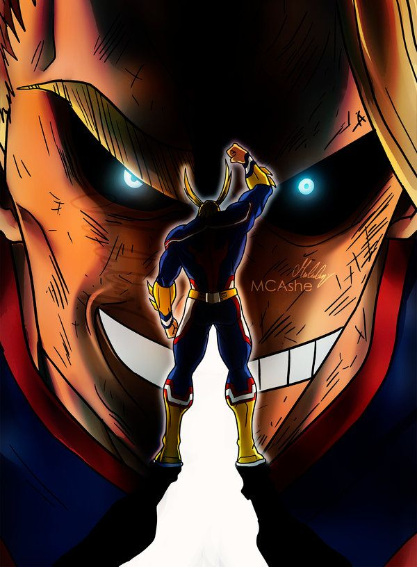 All Might Wallpaper Iphone Android And Desktop The Ramenswag