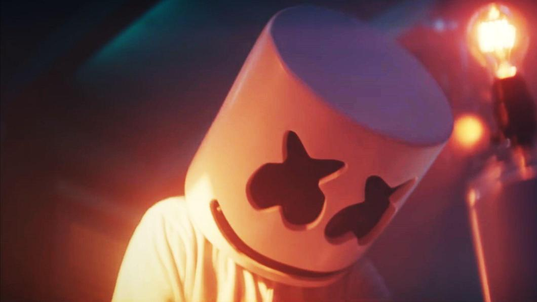 Marshmello wallpaper 4k