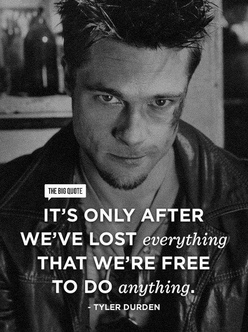 9 Kickass Fight Club Quotes Absolutely Worth Sharing! - The ...