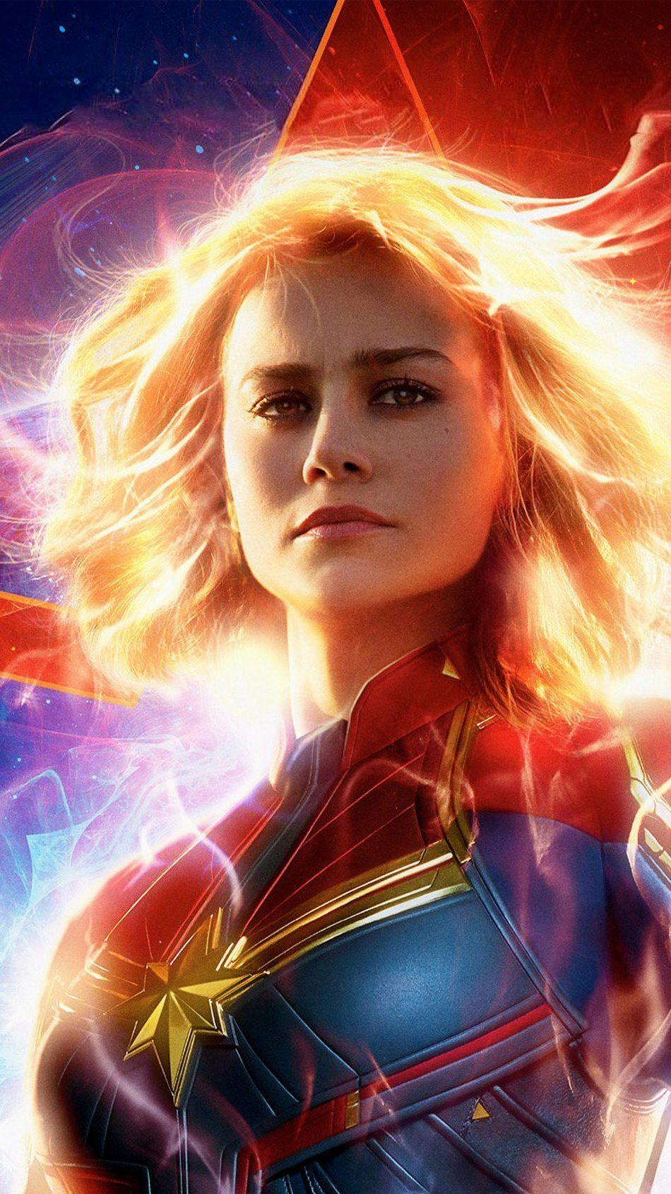 Captain Marvel Wallpaper 4k iPhone, Android and Desktop ...