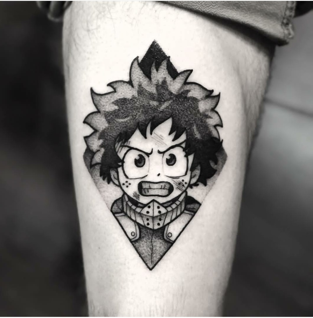 boku no hero academia deku tattoo