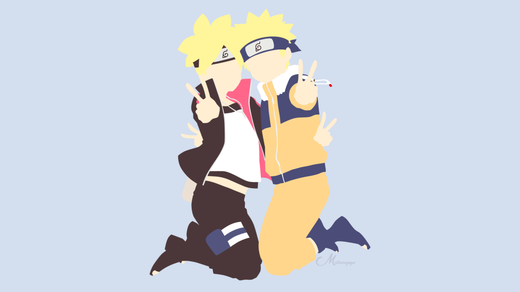Naruto and Boruto wallpaper HD