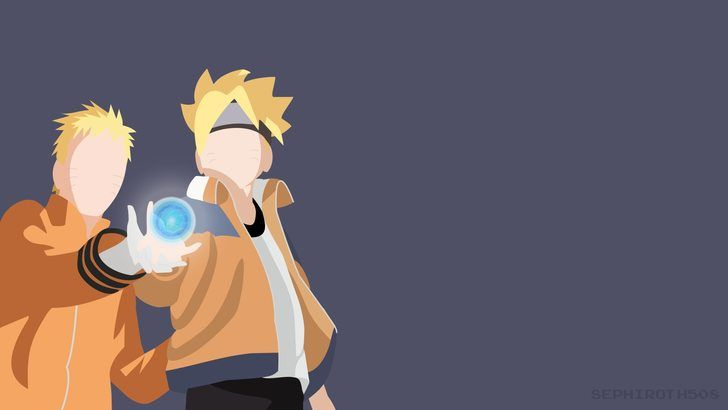 Naruto and Boruto wallpaper