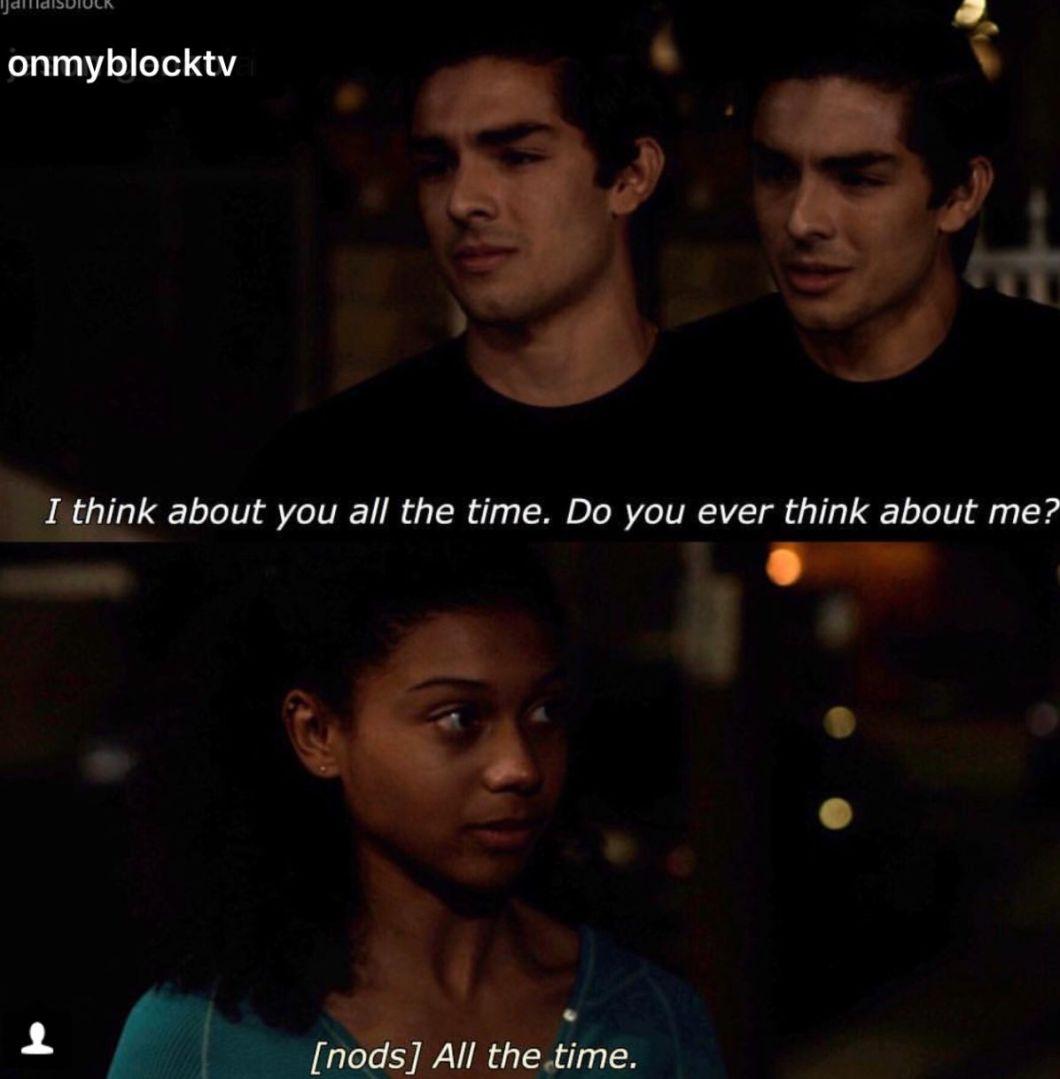 on my block season 3 quotes