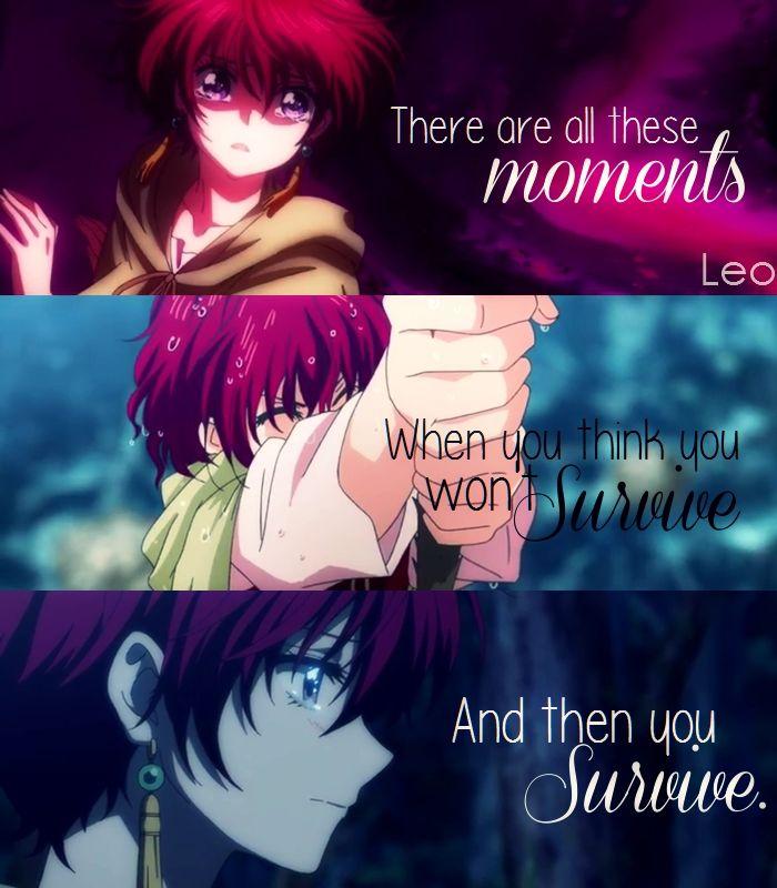 Akatsuki no yona quotes