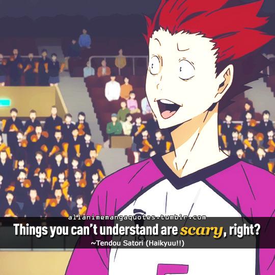 Tendou Satori quotes