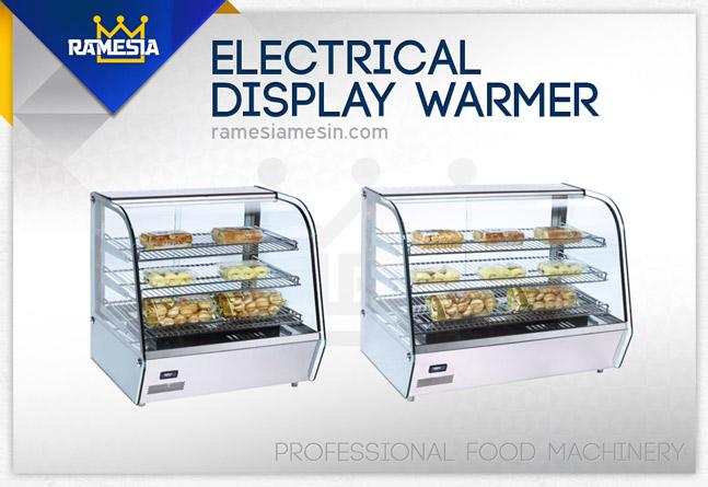 display warmer showcase