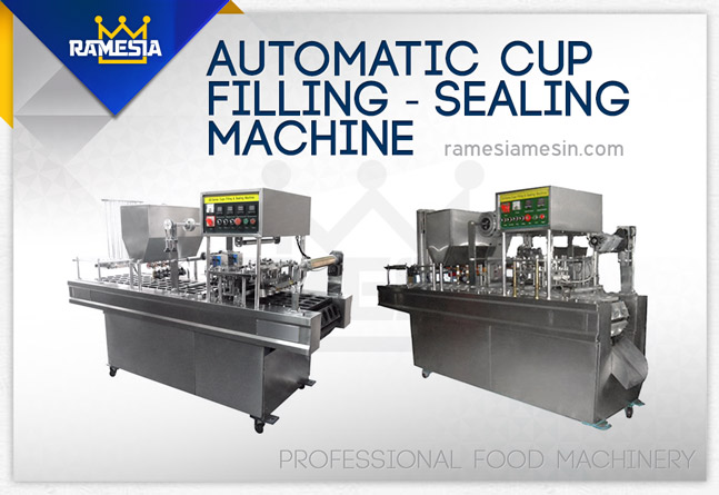 Mesin Automatic Cup Sealing