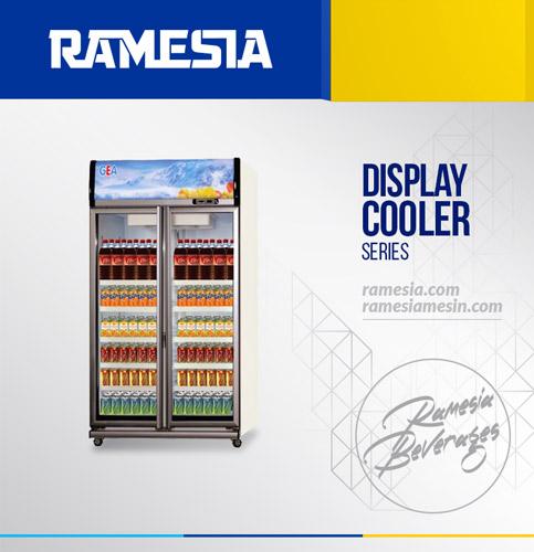 Display Cooler Ramesia 2 Pintu