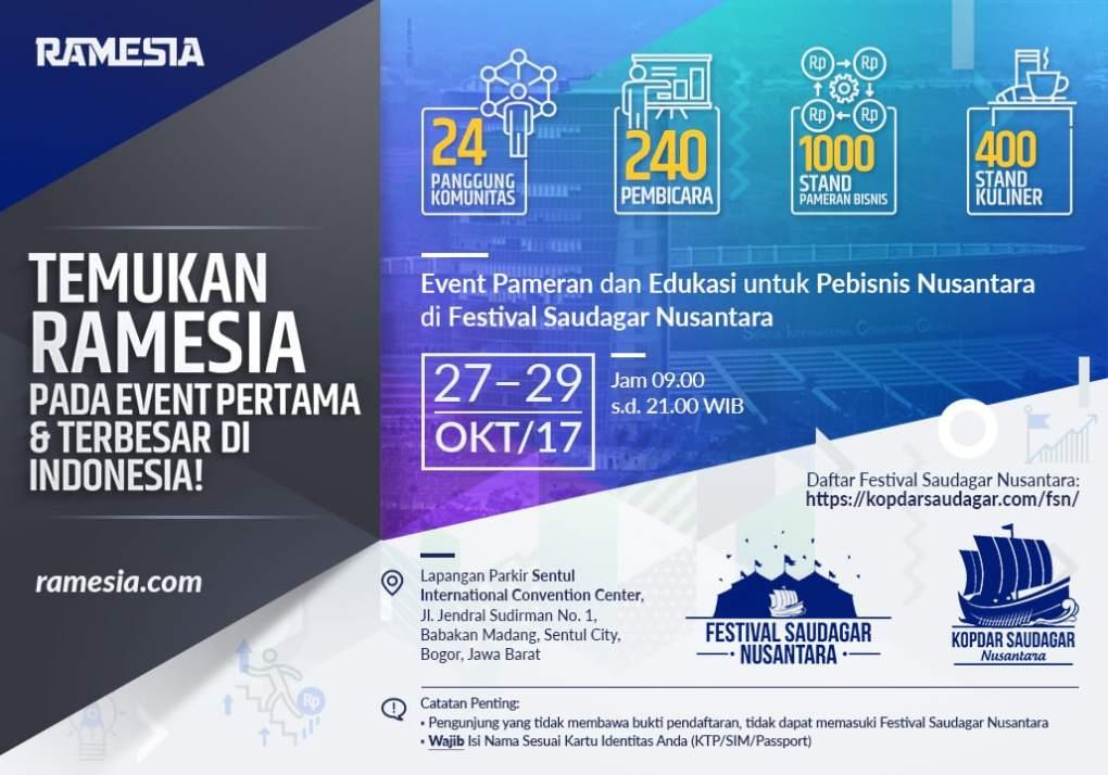 ramesia-KSN-FSN-pameran-2017