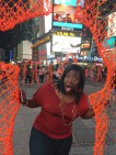 Weird thing in Times Square