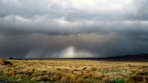 Storms across the San Luis Valley at Great Sand Dunes NP