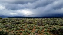 Storms over the Rio Grande plateau, NM