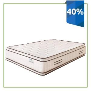 Descuento del 40% en el Colchón Resortado Soft Silver Ramguiflex