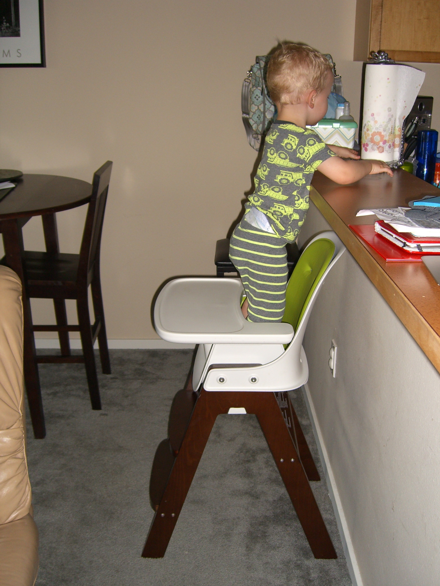 High Chair For Baby Boy What Baby Boy Has Been Up To The Ramhisers