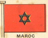 Drapeau du Maroc avant 1948