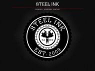 Steel ink mockup